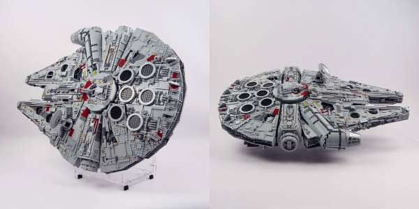 LEGO Millennium Falcon Display Stand 2-in-1